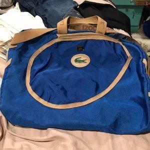 Lacoste IZod tennis bag